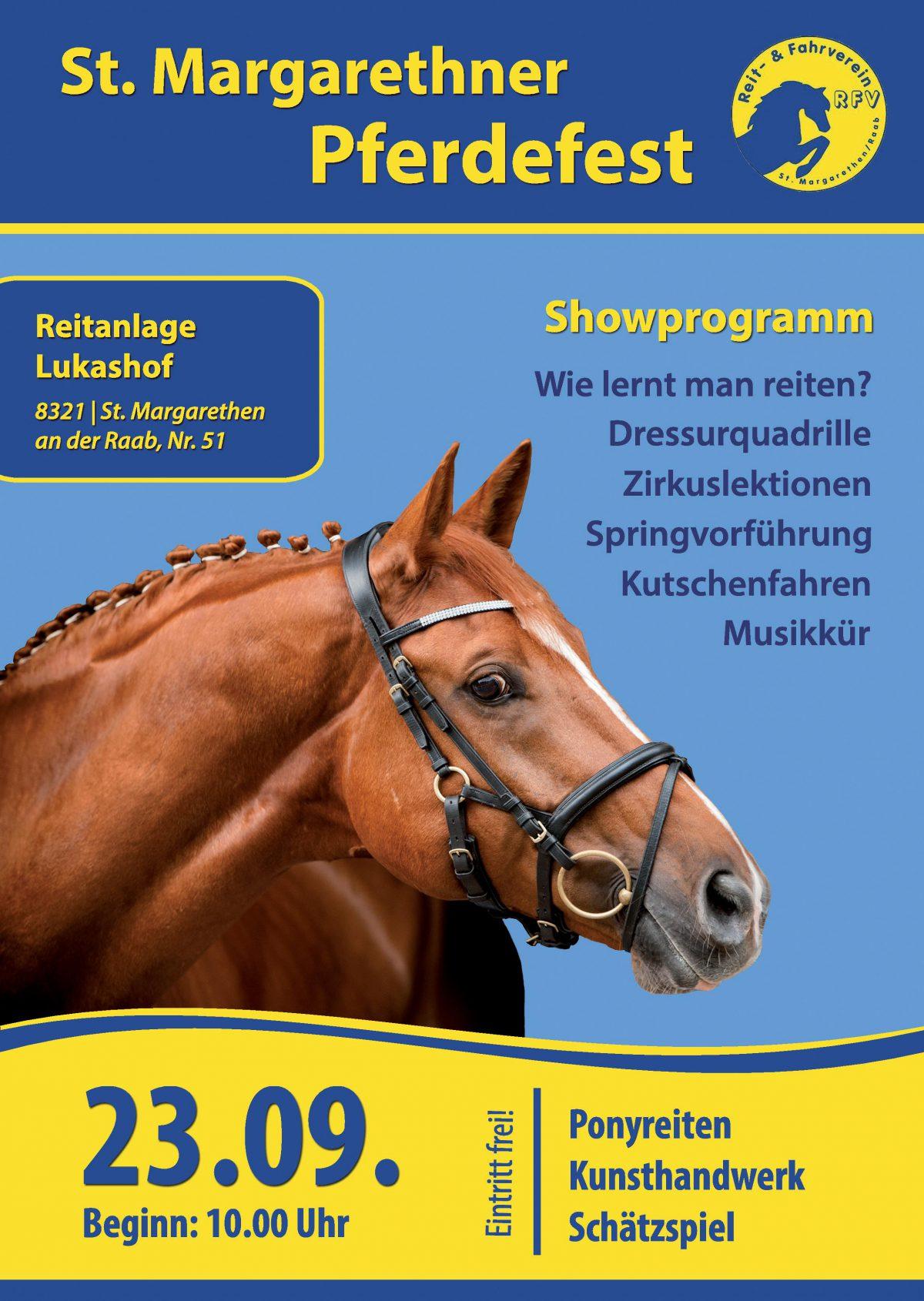 Plakat Pferdefest